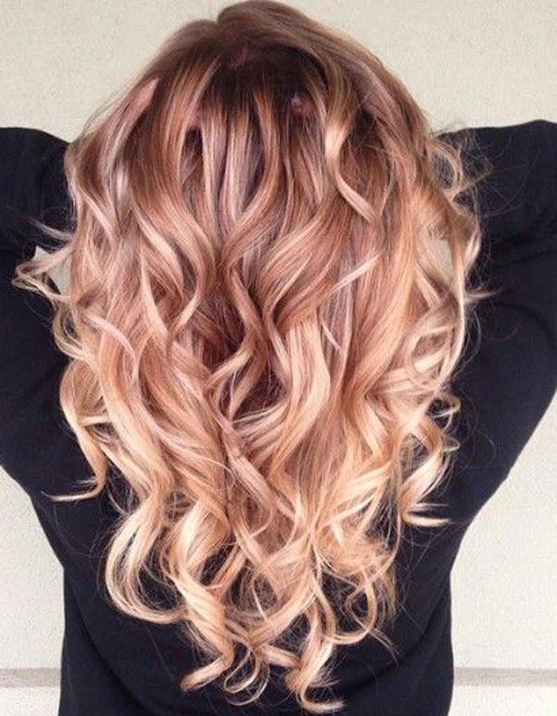 Ombr hair cuivr  Ombr hair  les plus beaux dgrads de couleur  Elle