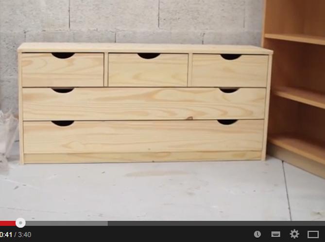 video relooker un meuble en 2 coups