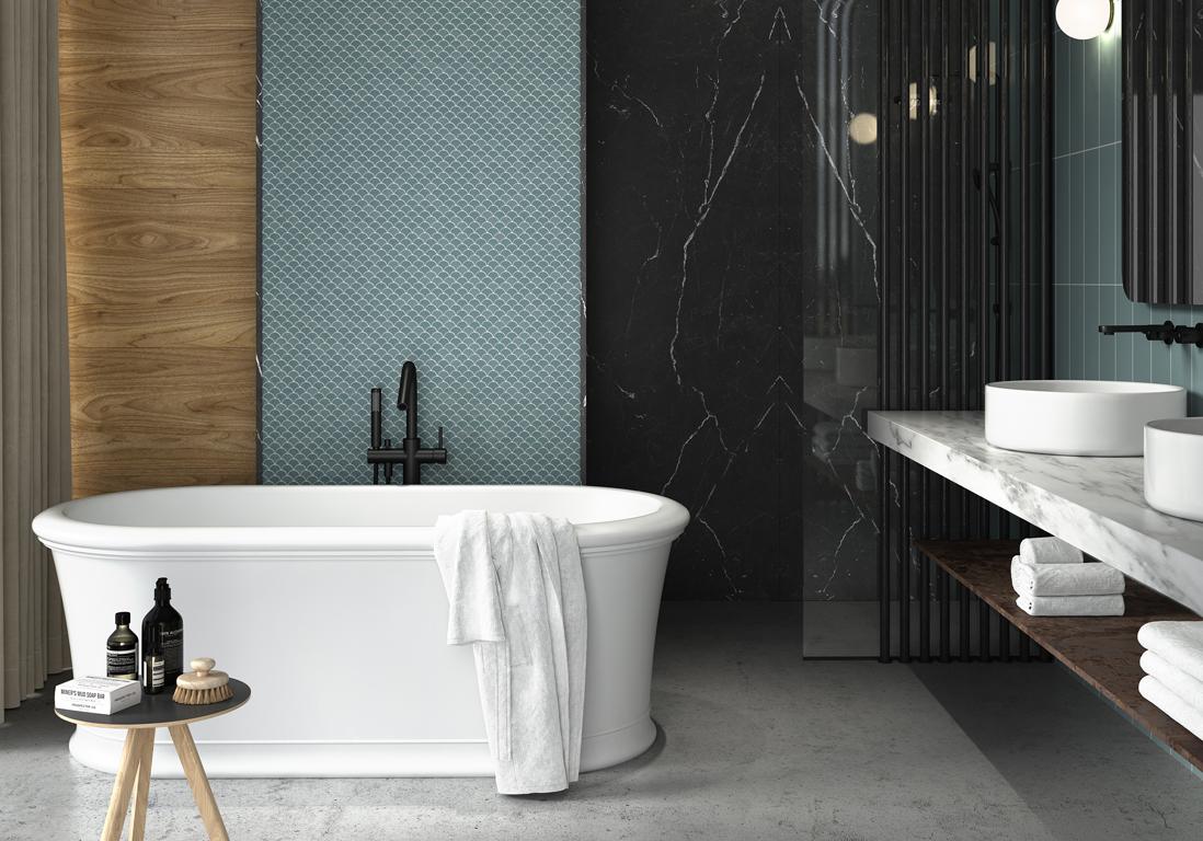35 salles de bains design elle decoration
