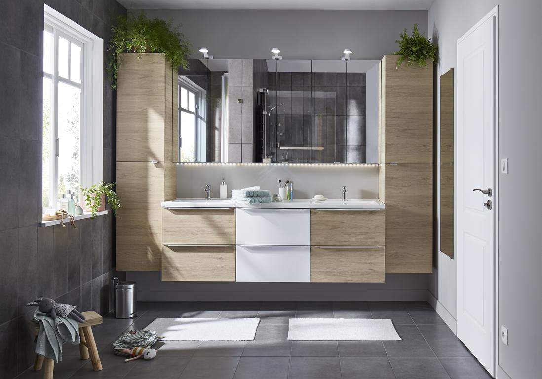 ces salles de bains castorama ont tout pour plaire elle decoration