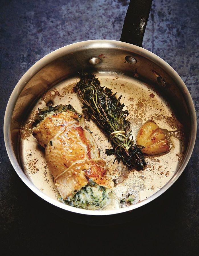 Cuisson Paupiette De Poulet : cuisson, paupiette, poulet, Paupiettes, Poulet, Blettes, Personnes, Recettes, Table