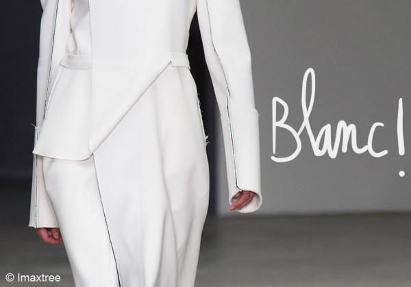 blanc Calvin Klein S14 031