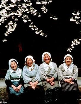 Japon le pays ou les femmes vivent le plus longtemps