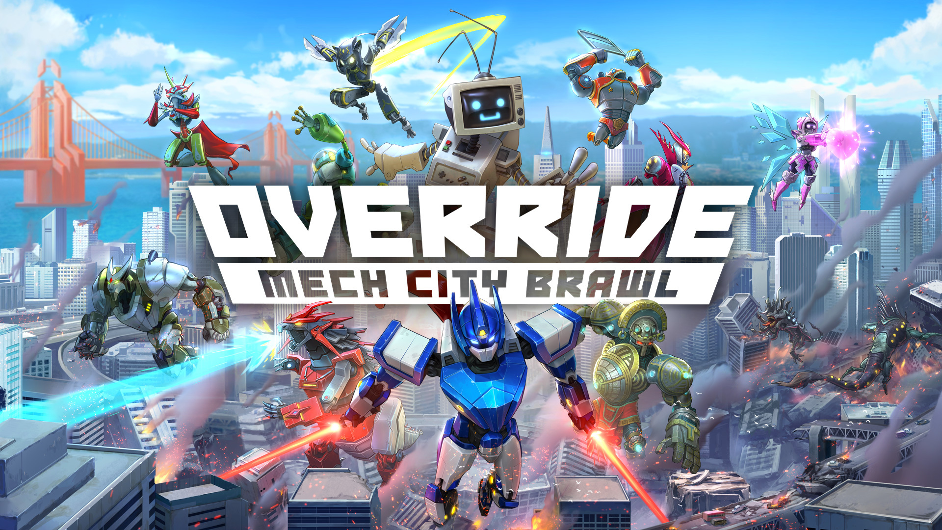 Override: Mech City Brawl Viene con los Games With Gold de Agosto