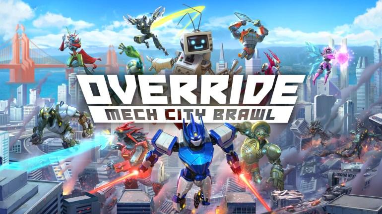 Override: Mech City Brawl   PC Steam Game   Fanatical