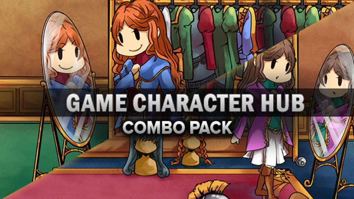 Game Character Hub Combo Pack Steam Game Bundle Fanatical