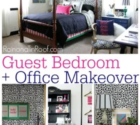 Chic Guest Bedroom Office Makeover Hometalk