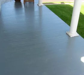 porch floor paint peeling hometalk