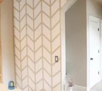 Herringbone Pattern Accent Wall | Hometalk