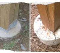 Why Deck Posts Should Not Be Set in Concrete | Hometalk