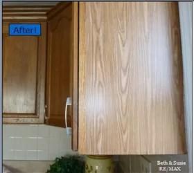 Quick Oak Cabinet Fix With Tiny Budget! Hometalk