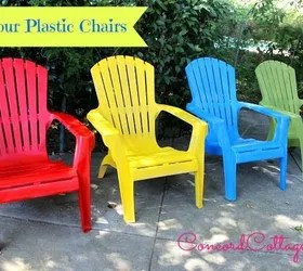 how to paint plastic chairs swivel chair living room your hometalk outdoor furniture painted