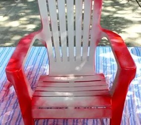 how to paint plastic chairs folding chair black your hometalk outdoor furniture living painted