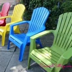 How To Paint Plastic Chairs Dining Table Armchair Covers Your Hometalk Outdoor Furniture Living Painted