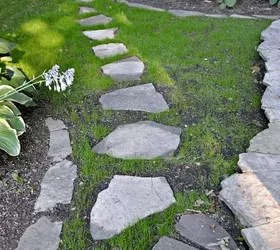 diy stepping stone path hometalk
