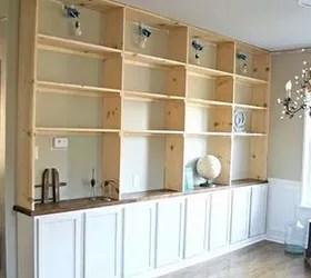The best way to do Builtin Shelves  Hometalk