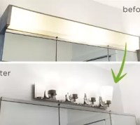 Diy Bathroom Lighting Ideas With Original Images