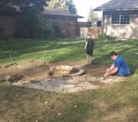 Building a Backyard Fire Pit | Hometalk