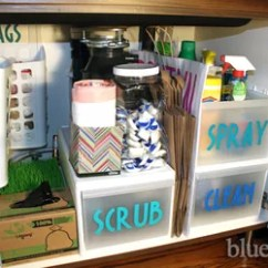 Under Kitchen Sink Organizer Chalkboards For Tips Organizing The Hometalk