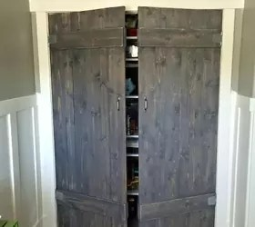 rustic bedroom closet doors Barn Wood Closet Doors | Hometalk