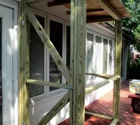 Build A Catio ~ a Tiny Screen House for Kitty Cats!