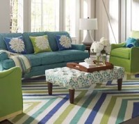 Mixing Patterns In Living Room