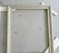 DIY Framed Window Mirrors