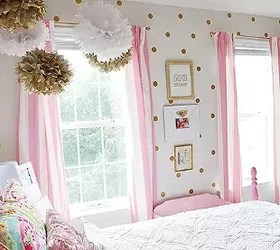 gold and pink girls bedroom ideas Girl's Room in Pink/White/Gold Decor! | Hometalk