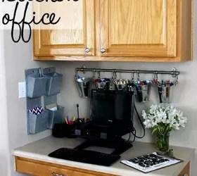 Organized Kitchen Office Makeover  Hometalk