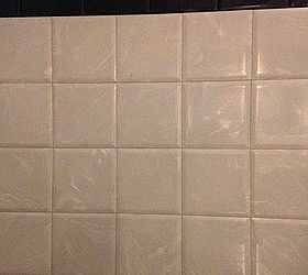 Removing plastic square tile in my bathroom and kitchen