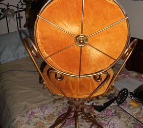 swivel chair disassembly umbrella walmart how to disassemble an antique metal hometalk painted furniture repurposing upcycling