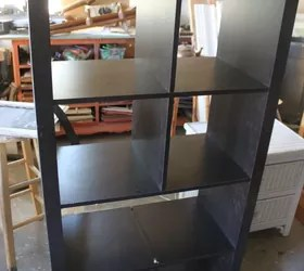 rolling island kitchen popular paint colors for kitchens turn old bookshelf into island! | hometalk
