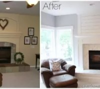 Fireplace Makeover Before and After   Hometalk