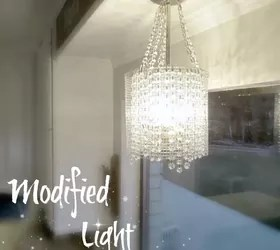 Modified Light Fixture Update Hometalk
