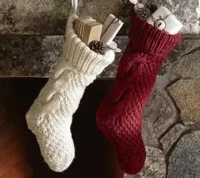 Knit Stocking Pottery Barn