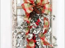 Christmas Grapevine and Pine Swag | Hometalk