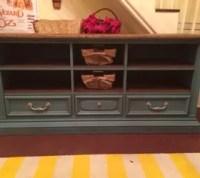 Dresser to Entertainment Center Transformation   Hometalk
