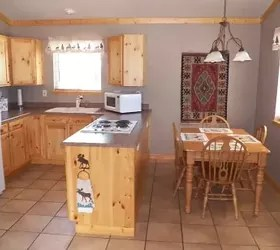 kitchen cabinets colorado springs floor options what paint colors to pair with natural hickory | hometalk