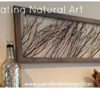 Create Natural Wall Art Using Wooden Sticks   Hometalk
