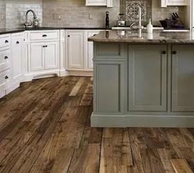 vinyl plank wood look floor versus