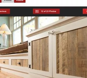 has anyone made replacement cabinet doors with pallets hometalk