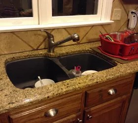 cheap kitchen sink discount cabinets jacksonville fl replace in granite countertop | hometalk