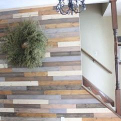 How To Decorate Living Room Wall Curtain Ideas For 3 Windows Painted Wood Plank   Hometalk