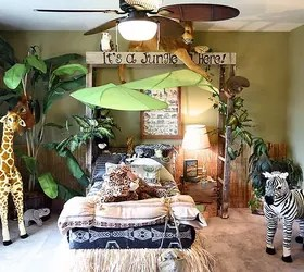 Jungle Themed Bedroom Hometalk