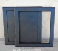 Repurpose Old Cabinet Doors Into Bulletin Board and Chalk ...
