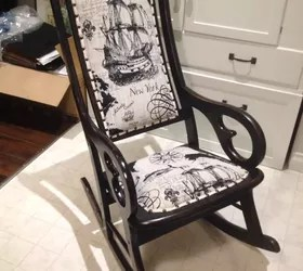 Antique Rocking Chair Update  Hometalk