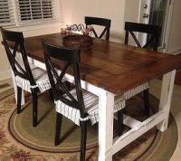 DIY Farm Table on the Cheap! | Hometalk
