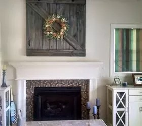 Barn Door TV Cover  Hometalk