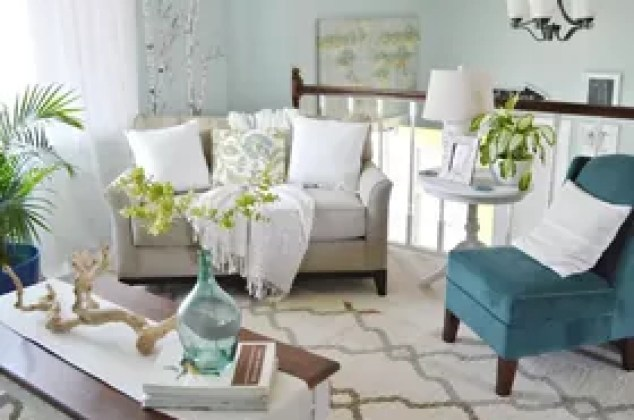 Living Room And Dining Makeover On A Budget Ideas