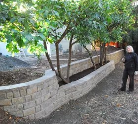 retaining wall property line